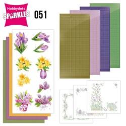 (SPDO051)Sparkles Set 51 - Jeanine's Art - Spring Flowers