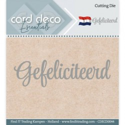 Card Deco Rectangle Essentials Cutting Dies CDECD0023