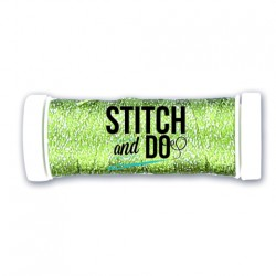 (SDCDS14)Stitch and Do Sparkles Embroidery Thread - Lime