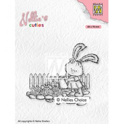 (NCCS001)Nellie`s Choice Clearstamp - Lena gardening