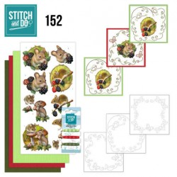 (STDO152)Stitch and Do 152 - Amy Design - Forest Animals