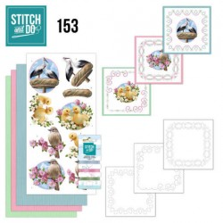 (STDO153)Stitch and Do 153 - Amy Design - Enjoy Spring