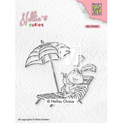 (NCCS002)Nellie`s Choice Clearstamp - Lena on holidays