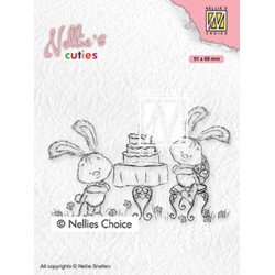 (NCCS005)Nellie`s Choice Clearstamp - Javi birthday party