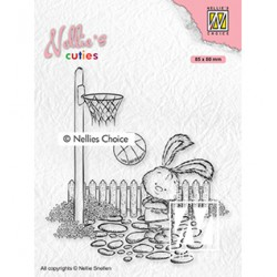 (NCCS006)Nellie`s Choice Clearstamp - Lars the sportsman