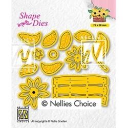 (SD193)Nellie's Build-up dies: flower basket