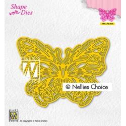 (SD199)Nellie's shape dies Butterfly