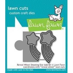 (LF1792)Lawn Fawn Reveal Wheel Shooting Star Add-On Dies