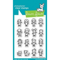 (LF2506)Lawn Fawn Tiny Friends Clear Stamps
