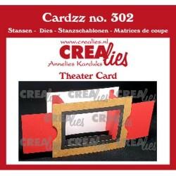 (CLCZ302)Crealies Cardzz Theater fold card