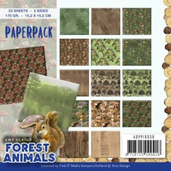 (ADPP10038)Paperpack - Amy Design - Forest Animals