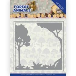 (ADD10231)Dies - Amy Design - Forest Animals - Forest Frame