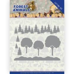 (ADD10232)Dies - Amy Design - Forest Animals - In the Forrest
