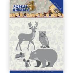 (ADD10233)Dies - Amy Design - Forest Animals - Forest Animals 1