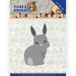 (ADD10235)Dies - Amy Design - Forest Animals - Bunny