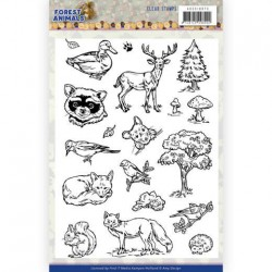 (ADCS10073)Clear Stamps - Amy Design - Forest Animals