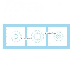 (LCSM002)Nellies Choice Stencil Mandala-2 for MSTS001