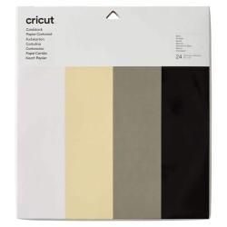 (2007746)Cricut Cardstock 24-sheet Sampler basic 30.5 X 30.5 cm