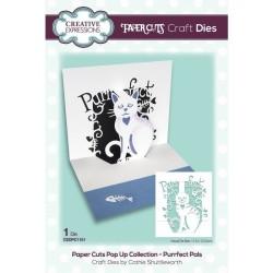 (CEDPC1151)Creative Expressions • Craft die paper cuts Purrfect pals