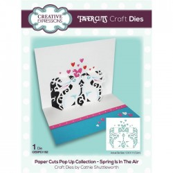 (CEDPC1152)Creative Expressions Craft die paper cuts Spring is in the air