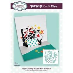 (CEDPC1147)Creative Expressions Craft die paper cuts Surprise!