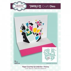 (CEDPC1148)Creative Expressions Craft die paper cuts Hooray
