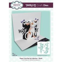(CEDPC1150)Creative Expressions Craft die paper cuts Woof!