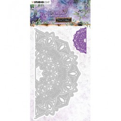 (STENCILJMA13)Studio Light Cutting and Embossing Die Mandala Time to Relax 2.0 nr.13
