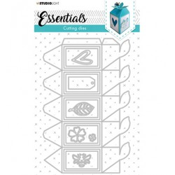 (STENCILSL395)Studio Light Cutting and Embossing Die Giftbox...