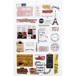 (740019-3)Stafil mini stickers Voyage
