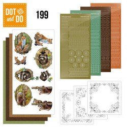 (DODO199)Dot and Do 199 - Amy Design - Forest Animals