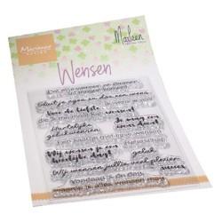 (CS1078)Clear stamp Wensen by Marleen