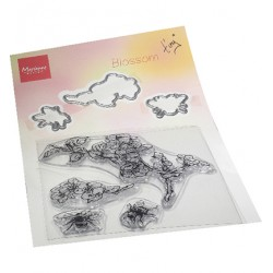 (TC0881)Clear stamp Tiny's Blossom Stamp & die Set