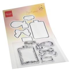 (TC0882)Clear stamp Tiny's Perfume Stamp & die Set