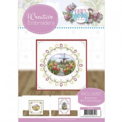 (CB10024)Creative Embroidery 24 - Amy Design - Enjoy Spring