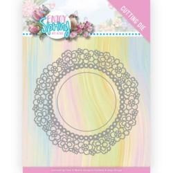 (ADD10238)Dies - Amy Design - Enjoy Spring - Flower Circle