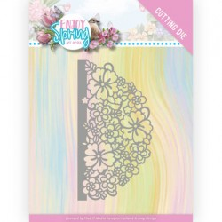 (ADD10239)Dies - Amy Design - Enjoy Spring - Half Flower Circle