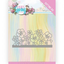 (ADD10240)Dies - Amy Design - Enjoy Spring - Flower Border