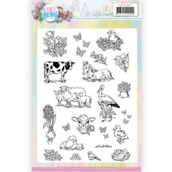 (ADCS10074)Clear Stamps - Amy Design - Enjoy Spring