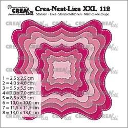 (CLNestXXL112)Crealies Crea-nest-dies XXL Fantasy form F Stitch