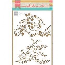 (PS8084)Marianne Design Craft stencil: Tiny's Blossom