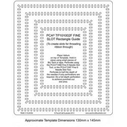 (PCA-TP101002)FINE Slot Rectangle Guide