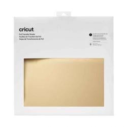 (2008718)Cricut Foil Transfer Sheets 30x30cm Gold (8pcs)