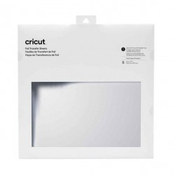 (2008719)Cricut Foil Transfer Sheets 30x30cm Silver (8pcs)