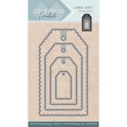 (CDECD0076)Card Deco Essentials - Label Dies - Label Dies Scallop