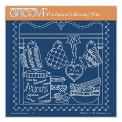 (GRO-LW-41715-03)Groovi Plate A5 LINDA WILLIAMS' MUM'S KITCHEN