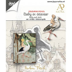 (6002/1612)Cutting embossing debossing dies - Anton Pieck - Baby and storck