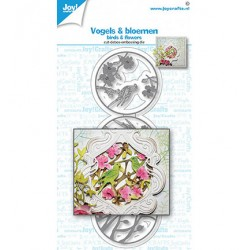 (6002/1615)Cutting embossing debossing dies - Birds & flowers