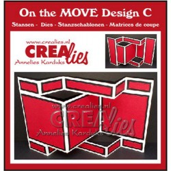(CLMOVE03)Crealies On The Move Design C