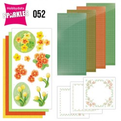(SPDO052)Sparkles Set 52 - Jeanine's Art - Orange Flowers